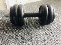 Dumbells 17.5 kg