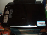 Epson DX 7450 printer and scanner