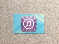 iTunes gift card - 25 pounds - NEW