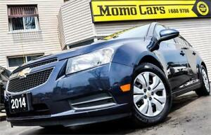 2014 Chevrolet Cruze 1LT/LT! USB/AuxIn+Bluetooth! ONLY $105/bi-w
