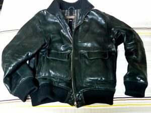 Danier Leather Bomber Aviator Jacket - Men's Large 42-44