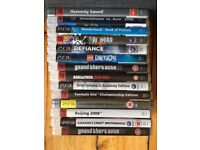 PS3 Games - £1.50 Each for 14 = £21 or whole lot for £18