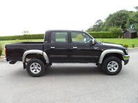2005 Toyota Hilux 280 VX D4D Pick Up, Black, 76440 miles