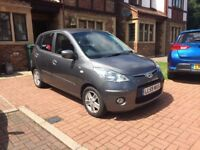 2010 Hyundai i10 1.1 Edition Petrol Manual 5dr in Grey 22k - Lady Owner From New