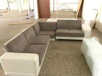 OFFERS WELCOME Large corner sofa bed