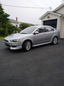 2009 Mitsubishi Lancer GTS 2.4 liter, manual, 52000kms