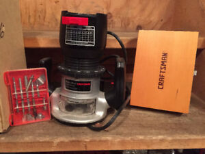 Craftsman Router Package
