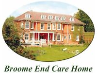 Day Care Assitant Required in a Residential Care Home - Free NVQ