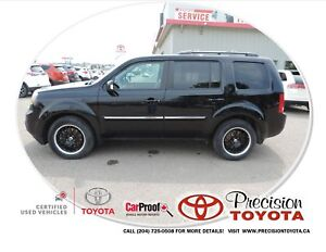 2014 Honda Pilot Touring One Owner, Leather, Navi, Heated Sea...