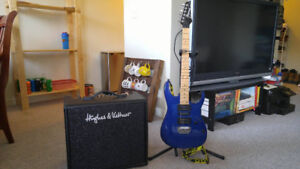 Selling Ibanez Guitar with Hughes and Kettner Amp