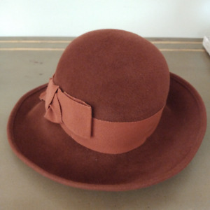 NEW with Tags 100% Wool felt hat – SEEBERGER Made in Germany