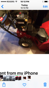 Snow blower - leaving province must sell asap