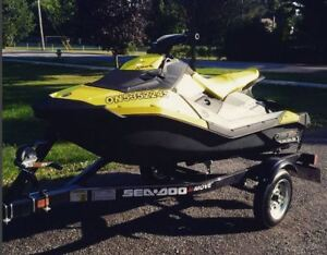 2016 Seadoo Spark 3 Seater with Trailer