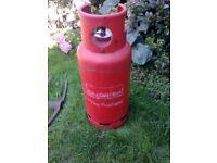19kg PROPANE CALOR GAS BOTTLE (STILL GAS IN IT) FOR SALE. COULD DELIVER.