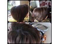 Hair beauty,. Hair colouring., hair cutting, blow dry, highlihts, home service ***