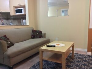 FURNISHED BASEMENT SUITE AVAILABLE FOR RENT FROM AUGUST 21st