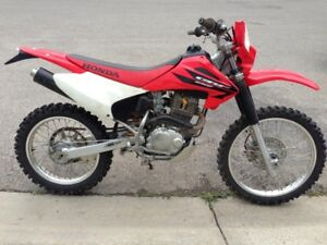 HONDA CRF230F ELECT START w/BAJA DESIGNS LIGHTS(CHEAPEST IN CGY)