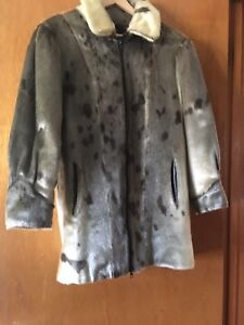 Size 8 Seal fur coat - handcrafted  in Newfoundland