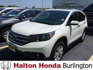 2014 Honda CR-V TOURING/ LEATHER HEATED SEATS/ NAVIGATION