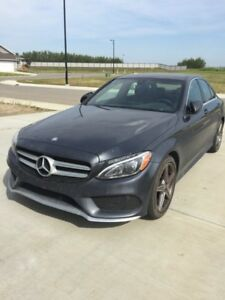 Lease Takeover!  2016 Mercedes-Benz C300 4MATIC