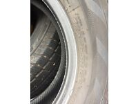 Nearly new winter tyres 225/65/16c