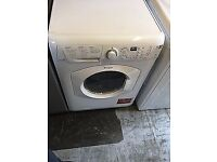 13 Hotpoint WDF740 7kg 1400 Spin White LCD Sensor Dry Washer/Dryer 1 YEAR GUARANTEE FREE DEL N FIT