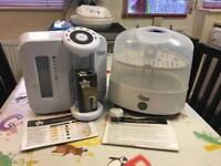 Tommee Tippee Perfect Prep + Electric Steriliser