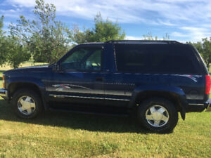 Rare DIESEL 1996 Chevrolet Tahoe SUV