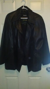 2 Mens Large Danier Leather Jacket/Coats