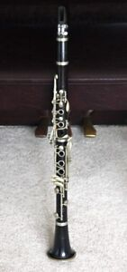 Clarinet Vintage By A. Fontaine Made In France.