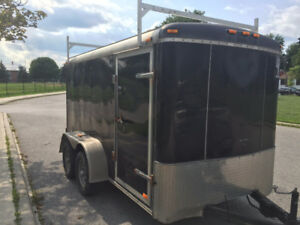 2010 ATLAS 6X12 TANDEM AXLE CARGO ENCLOSED TRAILER / WORKSHOP