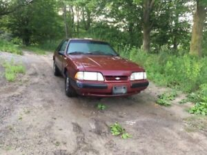 91 mustang lx coupe 2.3l