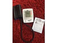 Blood pressure cuff monitor
