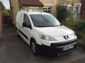 Peugot van for sale. With mot to 20 Dec. Selling due to upgrade. 1.6. Very reliable.