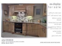 Complete Ex Display Kitchen With Appliances