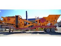 General 640 Mobile Stone Crushing and Screening Plant for sale.
