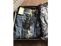 BRAND NEW BOXED GSTAR G-STAR JEANS ARC 3D LOOSE FIT NEW WITH TAGS AND BOX 34W 32L