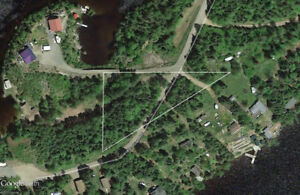 One Island Lake lot for sale
