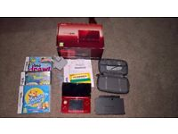 Nintendo 3DS Boxed with Games - Excellent Condition