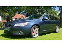 D5 AUTO 2007 VOLVO V70 SE D5 6 SPEED 185 BHP MOT 04.18 IMMACULATE CONDITION & DRIVE XENON LEATHER