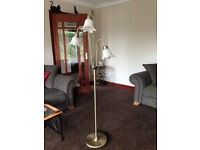 Attractive Triple Light Floor Lamp