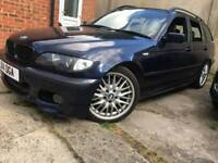 BMW 330d Sport Touring 5dr AUTOMATIC + LEATHER INTERIOR + HAD ALOT OF ENGINE WORK RECENTLY DONE