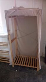 Canvas double wardrobe £25 CHEAP local DELIVERY Stalybridge SK15 2PT