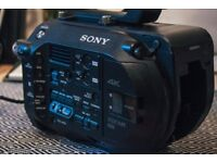 Sony FS7 Video Camera - Only 119Hrs - Great condition with two batteries and three 128GB XQD Cards!