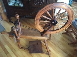 Antique (120+ years) Spinning Wheel