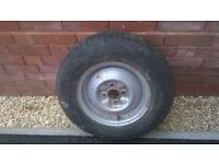 ONE SPARE WHEEL