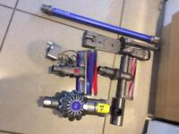 Dyson V6 Fluffy handheld vacuum cleaner. Exceptional condition.