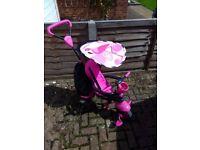 Smart Trike Pink & Black