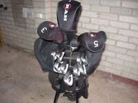 Set of Ram Concept 2 Golf Clubs and Bag
