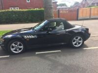 BMW Z3 ROADSTER 1.9 FULL SERVICE HISTORY DRIVES WELL RED LEATHER